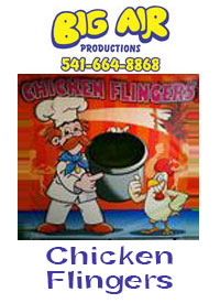 Big Air Chicken Flingers
