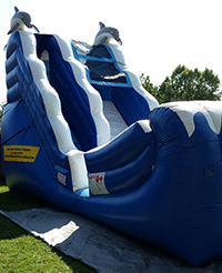 Big Air Mungo Water Slide