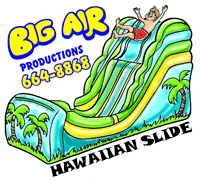 Big Air Tropical Wet & Dry Slide